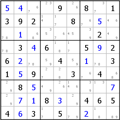 Sudoku technique: Example for This+is+not+a+BUG%2B1%21