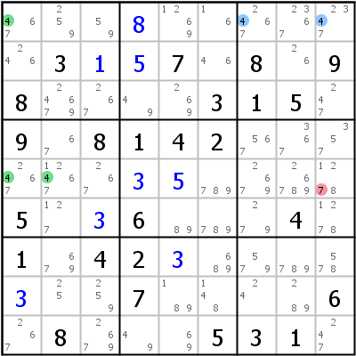 Sudoku technique: Example for Kraken+Fish+Type+2+%28Fish+only%29
